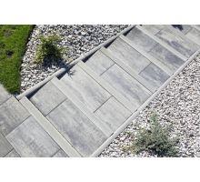 BEST Parkan V Zahradní obrubník 5x30x100cm, přírodní