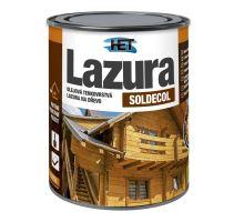 HET Soldecol 0,75 Lt - SL24 KAŠTAN  -Syntetická olejová tenkovrstvá lazura na dřevo (672)