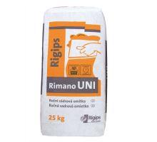 Rigips Rimano UNI, 25kg - ruční sádrová omítka, pro interiér, tl. vrstvy 5-30mm