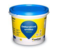 weber.pas marmolit střednězrnný 20 kg (32) 4,5 kg/m2 0077 omítka na objednávku poškozené