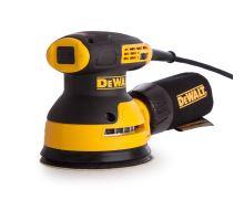 Bruska vibrační excentrická 280W, DWE6423-QS, kotouč 125mm DeWalt