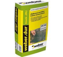 weber.dur RS1, 25kg - strojní/ruční vápeno-cementová jádrová omítka, pro exteriér/interiér, tl. vrstvy 10-25mm