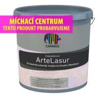Caparol ArteLasur - akrylátová lazura s bílými částečkami