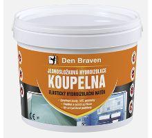 Den Braven Jednosložková hydroizolace KOUPELNA 5kg na disperzní bázi (interiér)