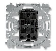 Strojek spínač schodišťák+schodišták JBT S 3559-A52345 bezšroubkový, řazení 6+6,6+1