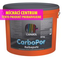 Caparol Carbopor Reibputz 10 - fasádní silikonová omítka zrnitá