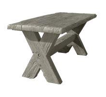 Betonový Stůl I. Diton 180 x 80 x 77 cm dub arktic